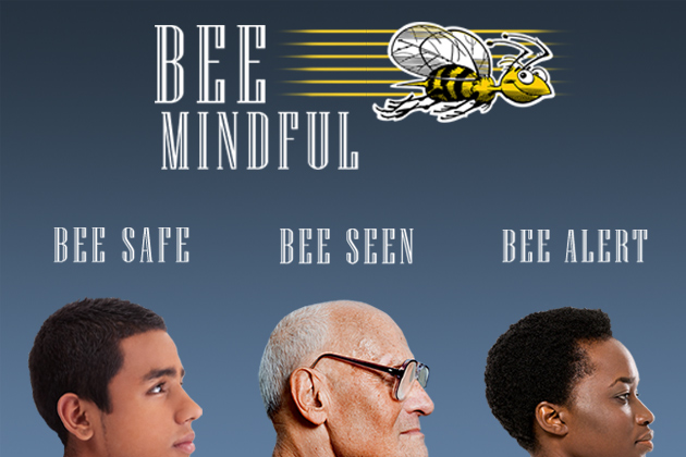 Bee Mindful: Tips for Pedestrian Safety